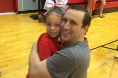 HALEY AND COACH JAMES