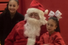 SANTA AND HALEY