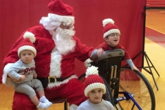 SANTA AND THE GRAHAM BOYS