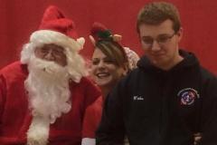 Santa Krissy and Wade