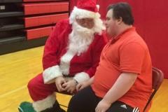 Santa and Carmelo