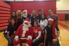 Santa and Exec Team