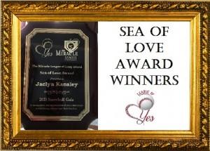 HOF SEA OF LOVE AWARD